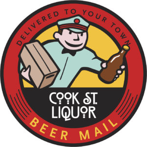 Cook St Liquor Beer Mail logo